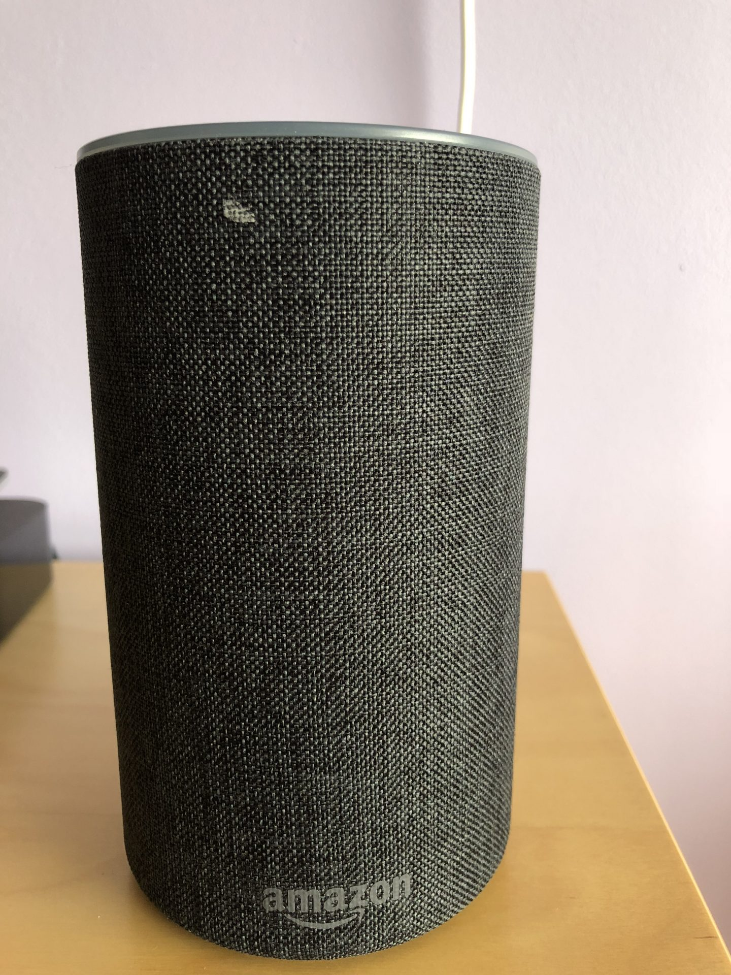 Picture of an Amazon Echo