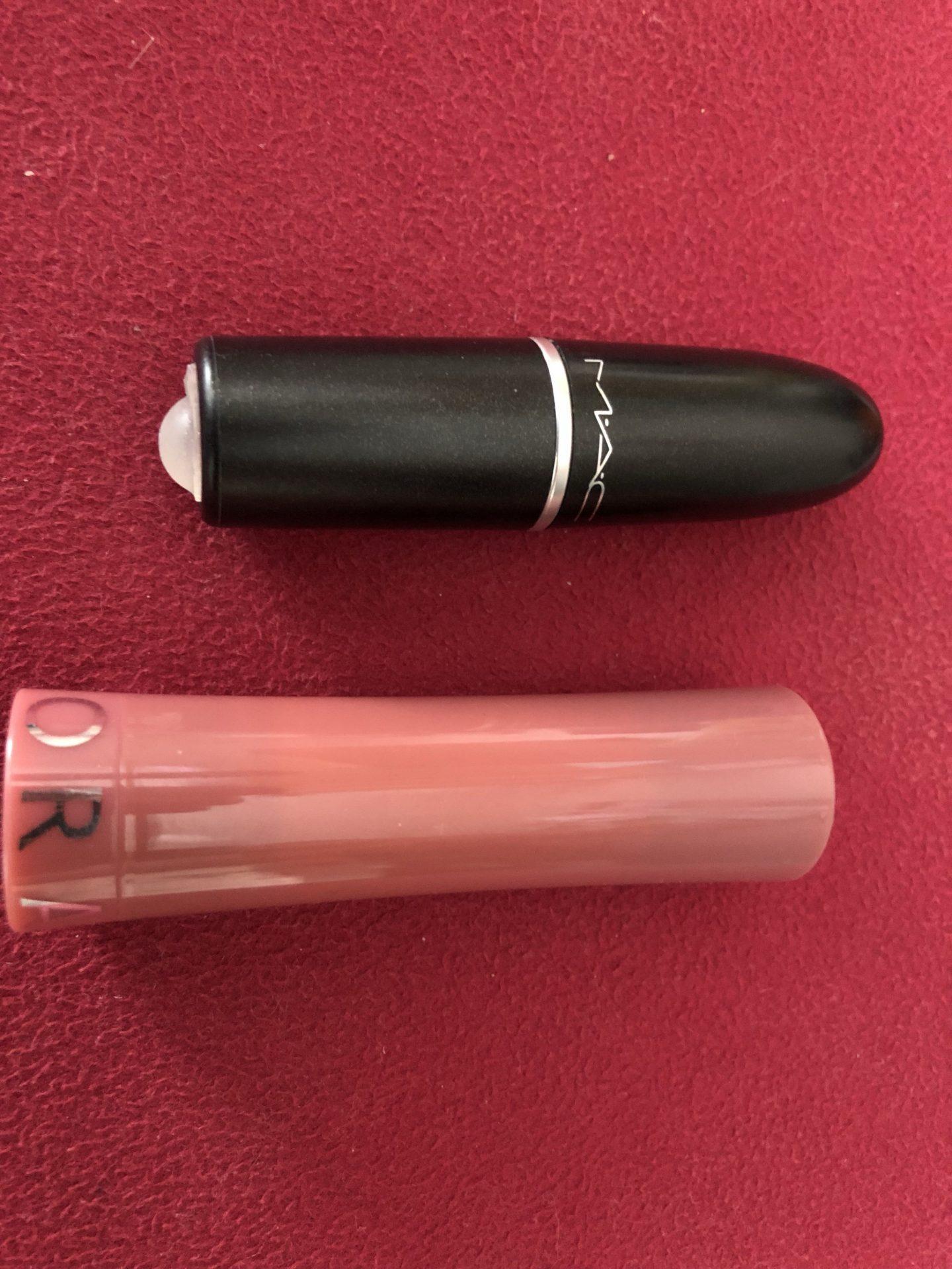 A photo of some lipsticks